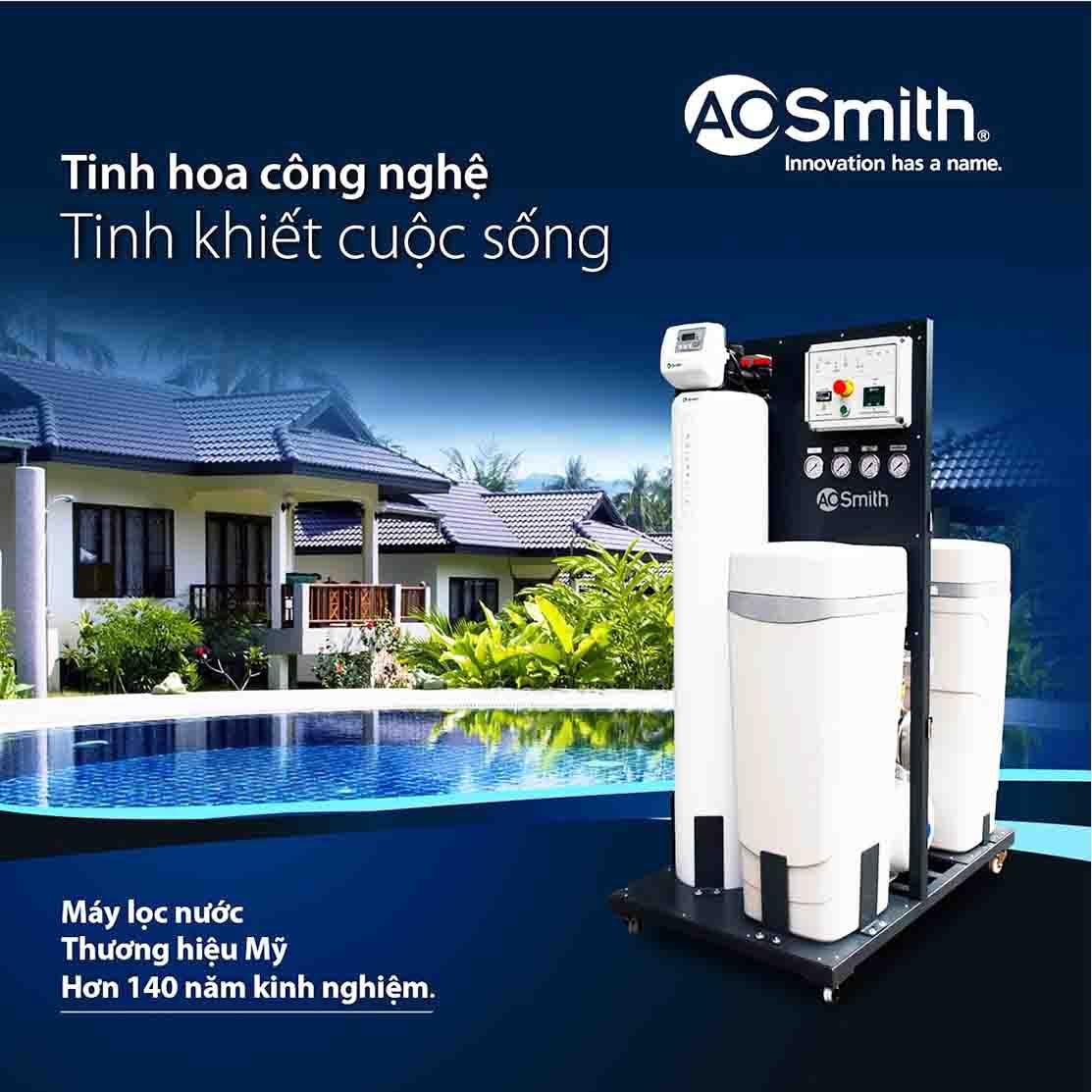 Hệ thống lọc nước đầu nguồn Ao Smith System 103 sẽ xóa bỏ nguy cơ dùng nước bẩn